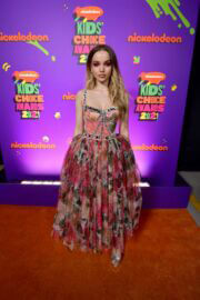 Dove Cameron attends Nickelodeon's 2021 Kids' Choice Awards in Santa Monica 03/13/2021 1