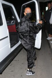 Draya Michele in Sweatsuit Enjoys at Mr. Chow in Beverly Hills 02/24/2021 2