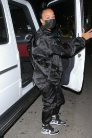 Draya Michele in Sweatsuit Enjoys at Mr. Chow in Beverly Hills 02/24/2021 4