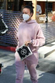 Draya Michele Steps Out for Lunch in Beverly Hills 03/11/2021 4