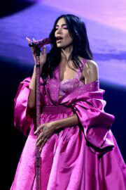 Dua Lipa Performs at 2021 Grammy Awards in Los Angeles 03/14/2021 7