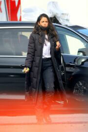 Eiza Gonzalez Seen on the Set of Ambulance in Los Angeles 03/12/2021 1