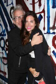 Elisa Jordana and Andy Dick Seen at Craig's in West Hollywood 03/10/2021 4