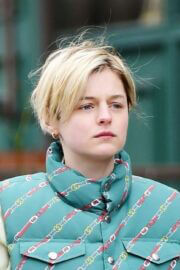 Emma Corrin Out and About in London 03/21/2021 4