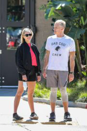 Emma Krokdal and Dolph Lundgren Day Out in Beverly Hills 03/24/2021 1