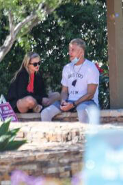 Emma Krokdal and Dolph Lundgren Day Out in Beverly Hills 03/24/2021 2