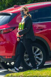 Felicity Huffman Arrived at a Friend's House in Lake Elsinore 03/21/2021 4