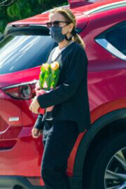 Felicity Huffman Arrived at a Friend's House in Lake Elsinore 03/21/2021 5
