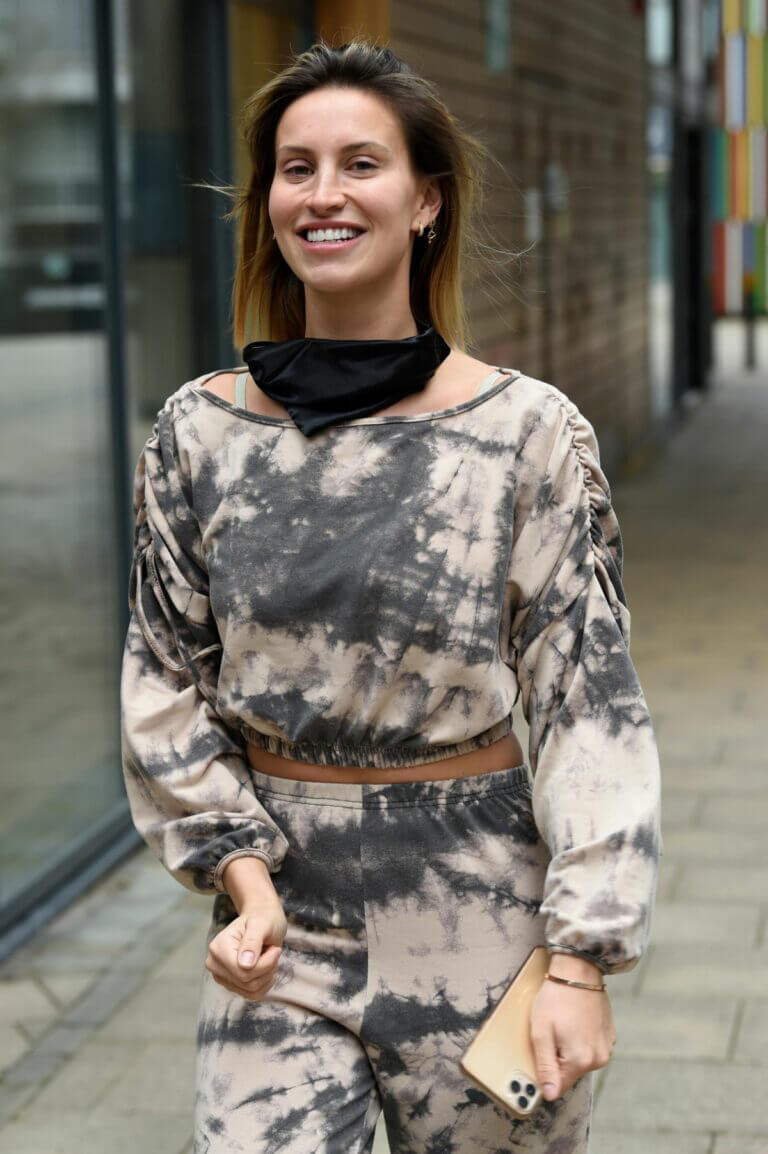 Ferne McCann Out For Stephs Packed Lunch Show in Leeds 03/25/2021 1
