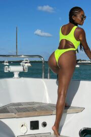 Gabrielle Union Enjoys in Bikinis at a Boat 03/12/2021 6