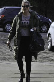 Gemma Atkinson is Seen Arriving at Hits Radio in Manchester 03/22/2021 1