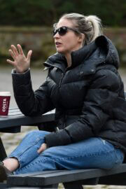 Gemma Atkinson Spotted at Hits Radio in Manchester 03/25/2021 2