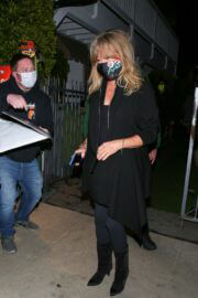 Goldie Hawn and Kurt Russell Step Out at Giorgio Baldi Restaurant in Santa Monica 03/10/2021 4