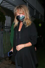 Goldie Hawn and Kurt Russell Step Out at Giorgio Baldi Restaurant in Santa Monica 03/10/2021 6