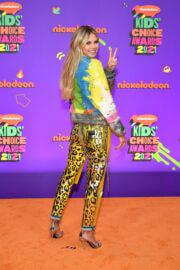 Heidi Klum attends Nickelodeon's 2021 Kids' Choice Awards in Santa Monica 03/13/2021 3