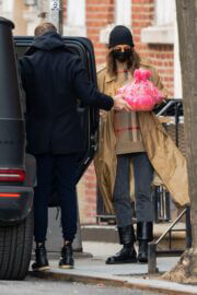 Irina Shayk and Bradley Cooper Day Out in New York 03/19/2021 8