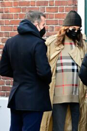 Irina Shayk and Bradley Cooper Day Out in New York 03/19/2021 10