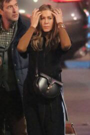Jennifer Aniston Back to Work as She seen on the Set of 'The Morning Show' in Los Angeles 03/10/2021 7