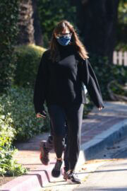 Jennifer Garner Spotted Her New House Construction Area in Brentwood 03/13/2021 2