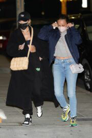 Jennifer Meyer and Maeve Reilly Spotted at Matsuhisa in Beverly Hills 02/23/2021 7