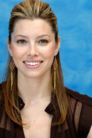 Jessica Biel Throwback Pictures of Stealth Press Conference 07/23/2005 7