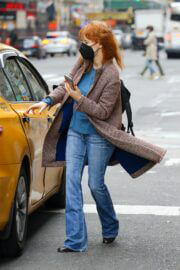 Jessica Chastain Day Out on Her Birthday in New York 03/24/2021 2