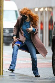 Jessica Chastain Day Out on Her Birthday in New York 03/24/2021 6