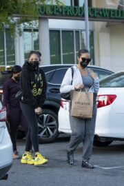 Jordyn Woods Out with Her Sister Jodie at Erewhon Organic in Calabasas 03/21/2021 6