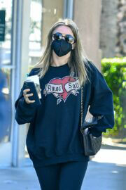 Julianne Hough Seen at Starbucks in West Hollywood 03/22/2021 3