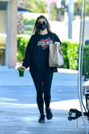 Julianne Hough Seen at Starbucks in West Hollywood 03/22/2021 7