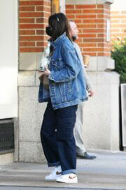 Kacey Musgraves in Double Denim Out and About in New York 03/25/2021 1