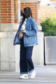 Kacey Musgraves in Double Denim Out and About in New York 03/25/2021 2