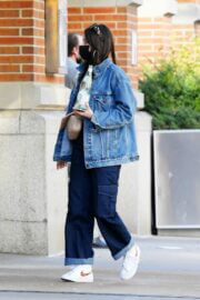 Kacey Musgraves in Double Denim Out and About in New York 03/25/2021 3