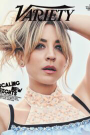Kaley Cuoco Photoshoot for Variety The Golden Globes Issue February 2021 6