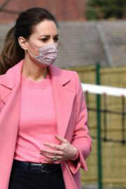 Kate Middleton Spotted at School21 in London 03/11/2021 1