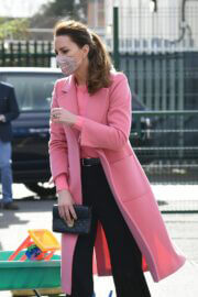 Kate Middleton Spotted at School21 in London 03/11/2021 5