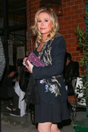 Kathy Hilton Celebrates Her Birthday and Enjoys Dinner at Mr. Chow in Beverly Hills 03/12/2021 3