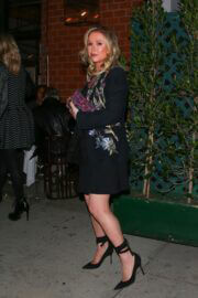 Kathy Hilton Celebrates Her Birthday and Enjoys Dinner at Mr. Chow in Beverly Hills 03/12/2021 6
