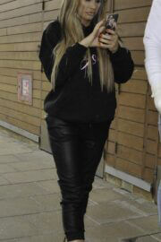 Katie Price is Leaving From Steph's Packed Lunch in Leeds 03/24/2021 5
