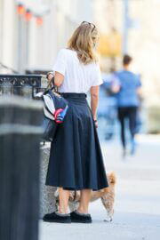 Kelly Ripa Day Out with Her Dog in New York 03/13/2021 6