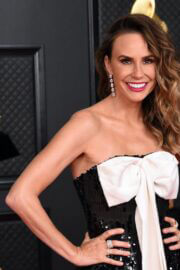 Keltie Knight attends 2021 Grammy Awards in Los Angeles 03/14/2021 1