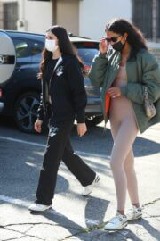 Kendall Jenner and Lauren Perez Steps Out for Coffee in West Hollywood 03/19/2021 1