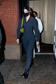 Kendall Jenner Seen at Nobu in New York 03/20/2021 7