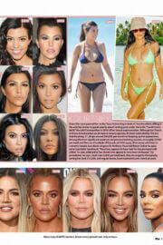 Kim Kardashian, Kendall and Kylie Jenner in Who Magazine, March 2021 1