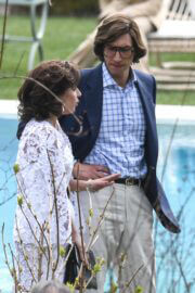 Lady Gaga and Adam Driver Seen on the Set of House of Gucci at Lake Como 03/17/2021 4