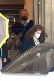 Lady Gaga is Seen Leaving Her Hotel in Rome 03/24/2021 3