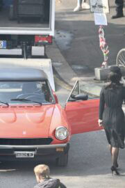 Lady Gaga Spotted on the Set of House Of Gucci in Milan 03/13/2021 3