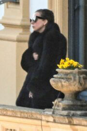 Lady Gaga Takes a Break from Filming House of Gucci 03/19/2021 2