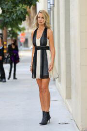 Lady Victoria Hervey on the Set of a TV Show at La Peer Hotel in West Hollywood 03/25/2021 2