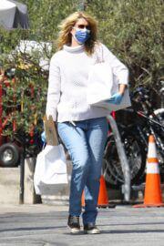 Laura Dern Day Out in Brentwood 03/14/2021 1